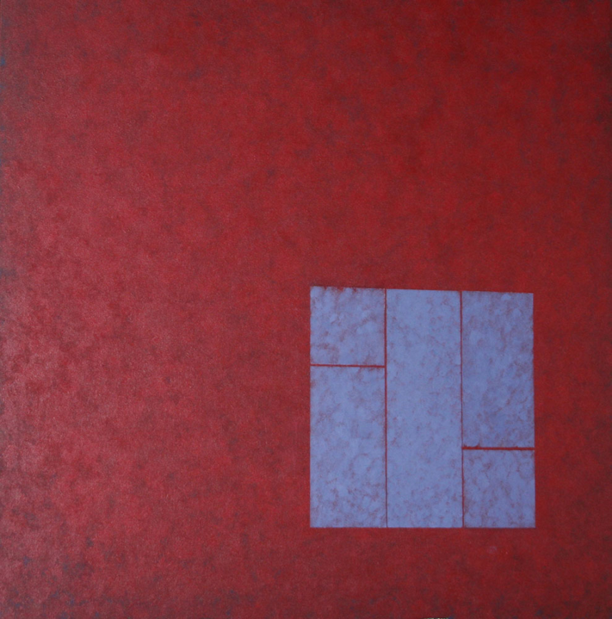 Contre Kwadrant 09 Acryl op doek 90x90cm