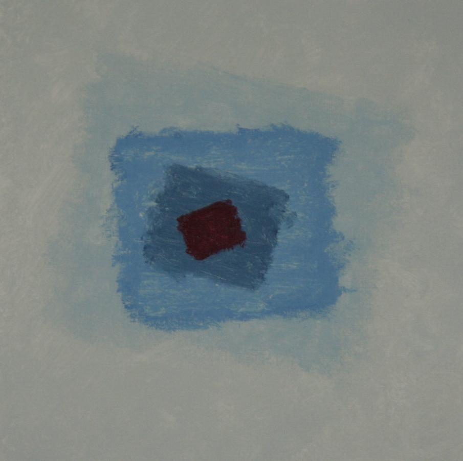 Flowing waters 08 Acryl op linnenpapier 50x50cm