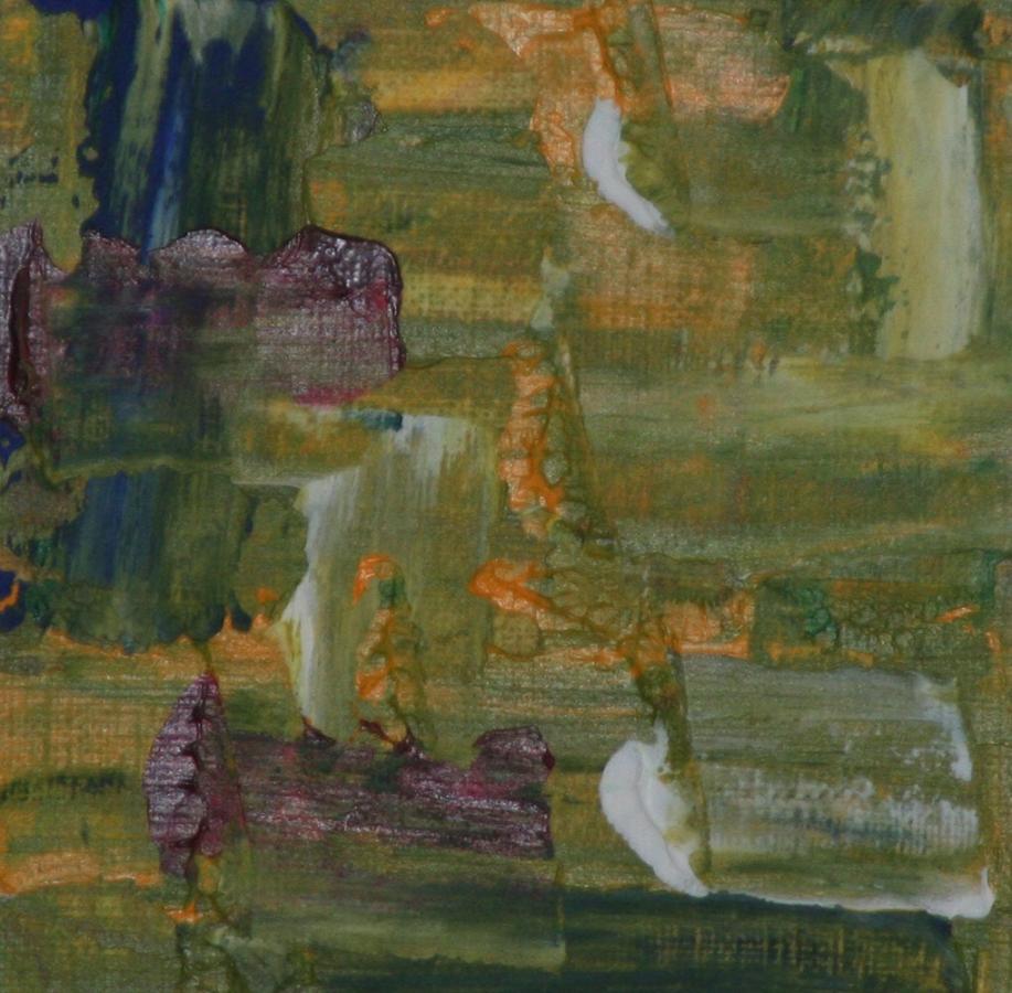 Green Abstract I 2010