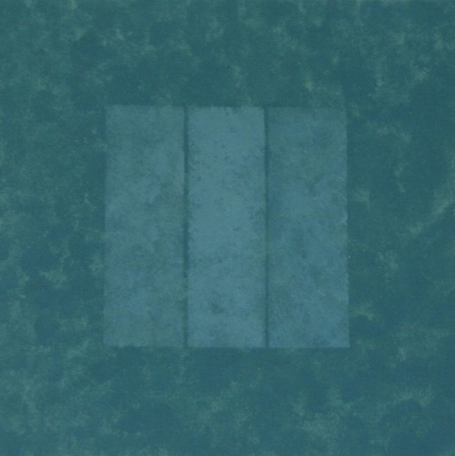 Kwadrant XII Acryl op linnenpapier 50x50cm
