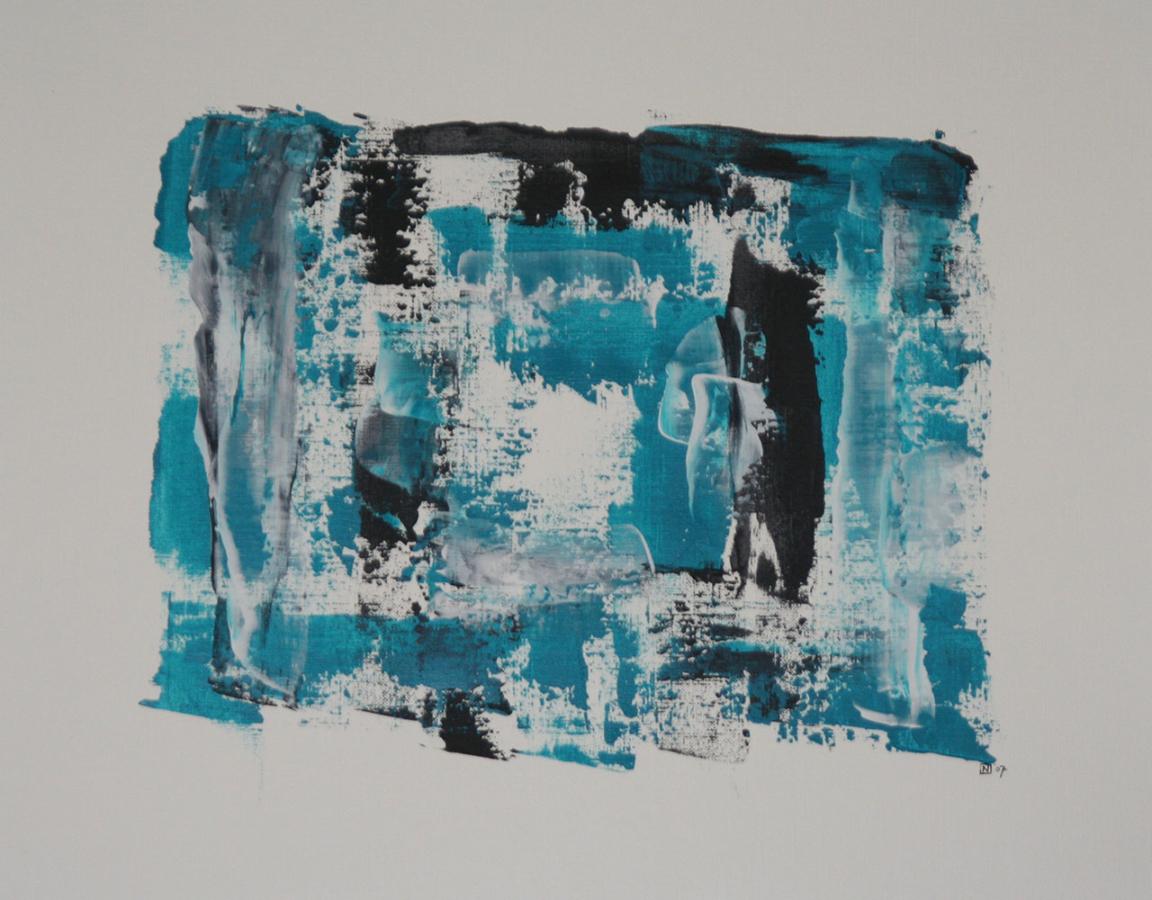 La force des choses 8 Acryl op linnenpapier 43x53cm