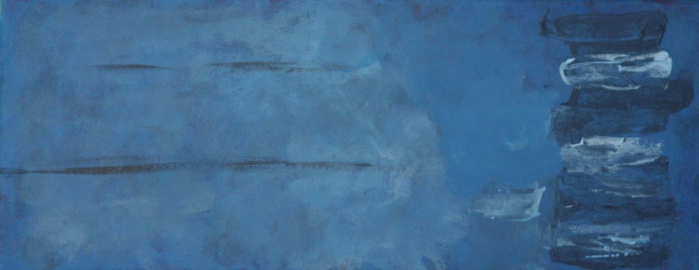Nightdust 07 acryl op doek 20x50 cm
