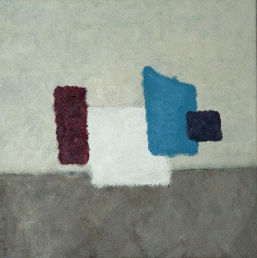 Quartetto Italiano 07 40x40cm acryl op doek