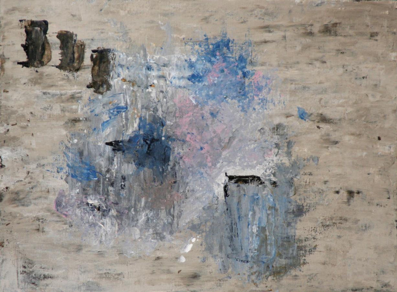 Rythm-_-Blues 07 Acryl op linnenpapier 35x45cm