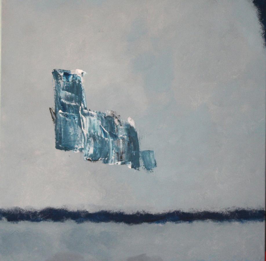 Some modest moments 07 acryl op doek 50x50 cm