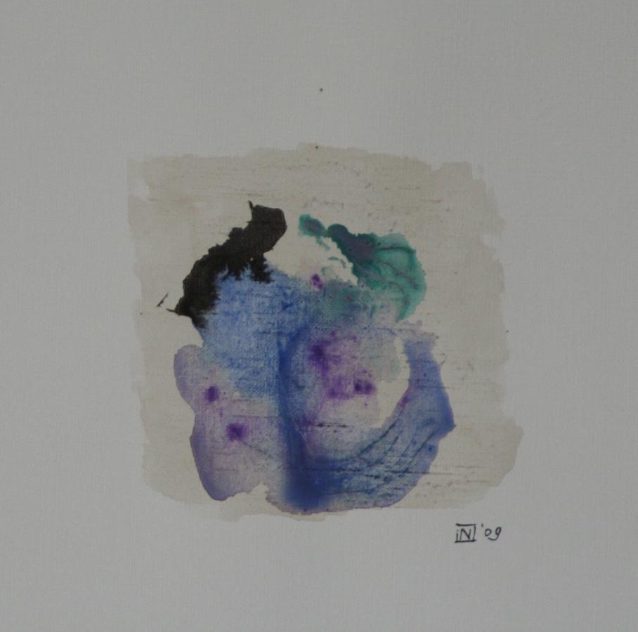 Transparant Torso Gemengde techniek op linnenpapier 33x43cm incl lijst