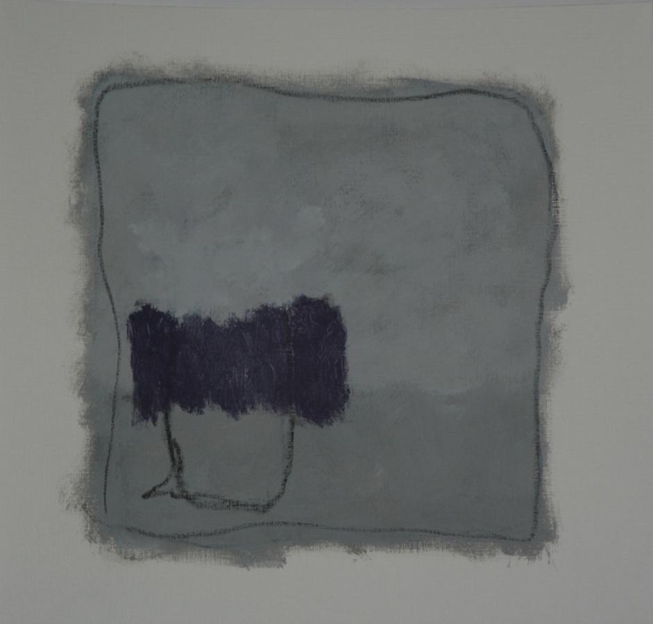 Yesterday 08 Acryl op linnenpapier 50x50cm